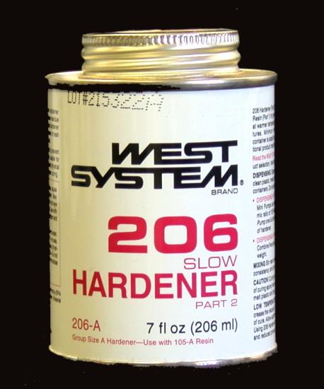 West System 206 Epoxy Slow Hardener