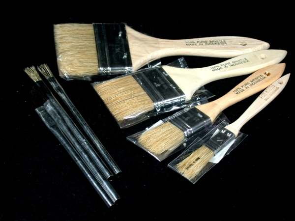 Wood Metal Paint Brushes